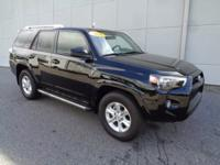 Certified. 2016 Toyota 4Runner SR5 CARFAX One-Owner.