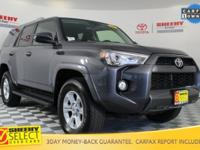New Price! 2016 Toyota 4Runner SR5 Clean Carfax, One