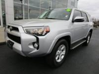 Recent Arrival! 2016 Toyota 4Runner SR5 Classic Silver