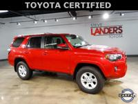 Toyota Certified. SR5 Premium 4WD, Navigation System,