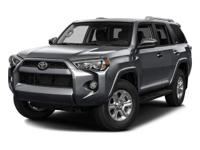 Racy yet refined, this 2016 Toyota 4Runner represents a