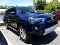 CARFAX One-Owner. Nautical Blue Pearl 2016 Toyota