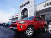4Runner Trail, 4WD, and ***ONE OWNER***. Trail Edition,