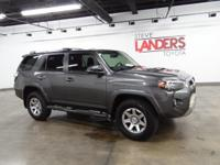 Toyota Certified. Trail Premium 4WD, Navigation System,