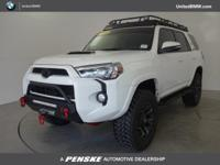 TRD Pro trim. CARFAX 1-Owner, LOW MILES - 9,023! Nav