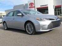 This 2016 Toyota Avalon Limited  will sell fast! This