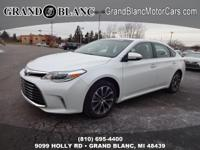 2016 AVALON XLE with LOW MILES - Certified **Rear