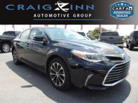 PREMIUM & KEY FEATURES ON THIS 2016 Toyota Avalon