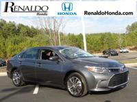 2016 Toyota Avalon XLE Gray 6-Speed Automatic ECT-i.