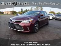 *CERTIFIED* 2016 Avalon XLE with LOW MILES and REMOTE