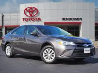 CARFAX One-Owner. Clean CARFAX. Gray 2016 Toyota Camry