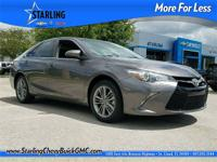 2016 Toyota Camry LE, ONE OWNER, CLEAN CARFAX, ALLOY