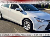 New Price! White 4D Sedan 2016 Toyota Camry LE FWD