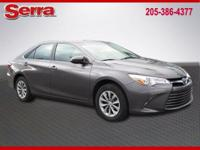 Gray 2016 Toyota Camry LE FWD 6-Speed Automatic 2.5L I4