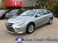 Options:  2016 Toyota Camry Le|Advertised Price Expires