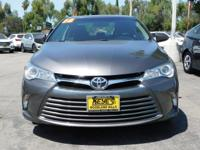 Options:  2016 Toyota Camry Le|Gray/Black|V4 2.5 L