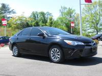 New Price! Midnight Black Metallic 2016 Toyota Camry LE