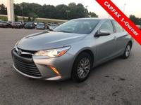Recent Arrival! 2016 Toyota Camry LE 2.5L I4 SMPI DOHC