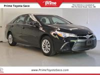 Toyota Certified! Carfax One Owner! 2016 Toyota Camry