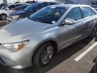Recent Arrival! 2016 Toyota Camry SECARFAX One-Owner.