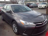 2016 Toyota Camry LE In Predawn Gray Mica. Get Hooked