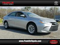 Camry LE, Toyota Certified, ABS brakes, Electronic