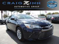 New Arrival! CarFax 1-Owner, This 2016 Toyota Camry LE