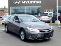 2016 Toyota Camry LE one owner with a perfect Experian
