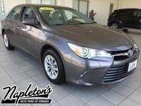Recent Arrival! Certified. 2016 Toyota Camry in Gray,