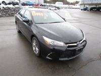 This 2016 Toyota Camry SE in Black features: CARFAX