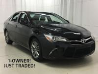 - -1-OWNER CAMRY SE WITH 43,603 MILES! THIS TOYOTA WAS