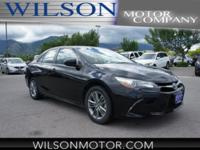 CARFAX One-Owner. Clean CARFAX. Black 2016 Toyota Camry