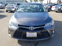 Options:  2016 Toyota Camry Se|Gray|Carfax One-Owner.