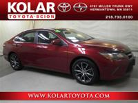 Camry XSE, ONE Owner Per AUTO CHECK History Report,