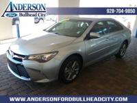 New Price! Silver 2016 Toyota Camry SE FWD 6-Speed