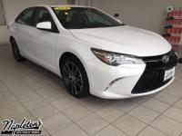Recent Arrival! 2016 Toyota Camry in White, Bluetooth,