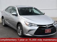 Certified. Celestial Silver Metallic 2016 Toyota Camry