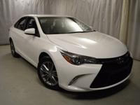 Recent Arrival! 2016 Toyota Camry Super White CARFAX
