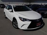 Camry SE, Toyota Certified, 4D Sedan, and 6-Speed