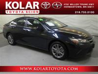 2016 Camry SE, Below Book Value!, And New Arrival! Stop