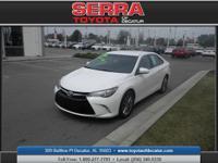 The Serra Toyota of Decatur Advantage! Real Winner! If