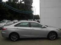 Options:  2016 Toyota Camry Silver|2.5L 4