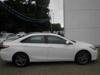 Options:  2016 Toyota Camry White|2.5L 4 Cyls|Automatic