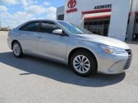 Recent Arrival! 2016 Toyota Camry Clean CARFAX. 35/25