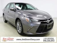 Drive home this 2016 Toyota Camry SE in Cosmic Gray