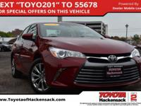 CARFAX One-Owner. Ruby Flare Pearl 2016 Toyota Camry