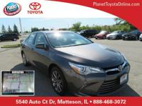 2016 Toyota Camry XLE Cosmic Gray Mica Ash w/Leather