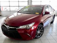 Certified. Ruby Flare Pearl 2016 Toyota Camry XSE FWD