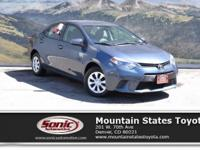 Check out this 2016 Toyota Corolla L. Its Automatic