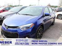 Recent Arrival! Blue Toyota Corolla **ANOTHER WEBER